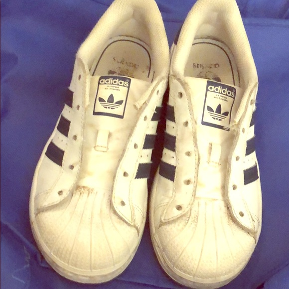 adidas Shoes | Kids Shell Toes | Poshmark